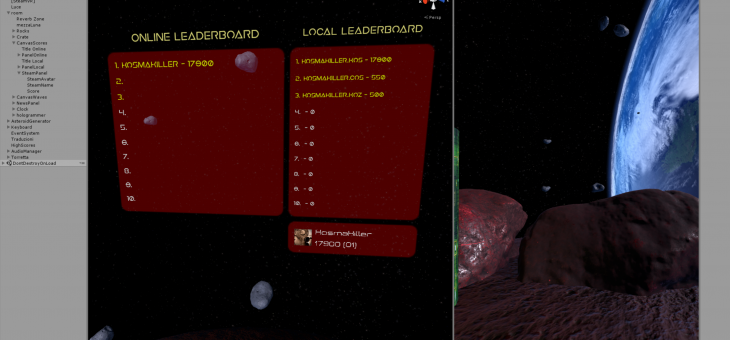 Online and local Leaderboards
